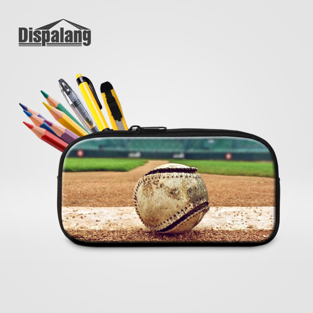 Buy Dispalang Womens Cosmetic Cases Baseball Print Lady Makeup Bag Kids Pencil Case Large Capacity Student Pencil Bag School Supply for only 10.65 USD