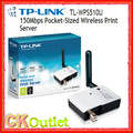 Brand New TP-Pocket-Sized Tl-wps510u Wireless Print Server com 1 ANO de Garantia (Dom Gratuito)