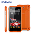 Original blackview bv5000 4g lte android 5.1 mtk6735 quad core 13mp teléfono inteligente de doble tarjeta 5000 mah impermeable teléfono móvil