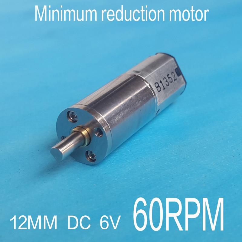 6V 150RPM Torque Gear Box Motor New