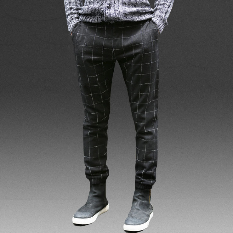 men plaid pants - Pi Pants