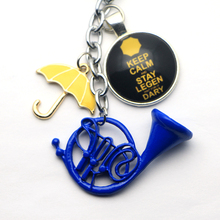 How I Met Your Mother Yellow Umbrella Keychain
