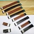 Botão único Buraco/CC 96mm/128mm/160mm/192mm estilo Europa mobiliário de couro handle pull para armários de portas de roupeiro cupborads