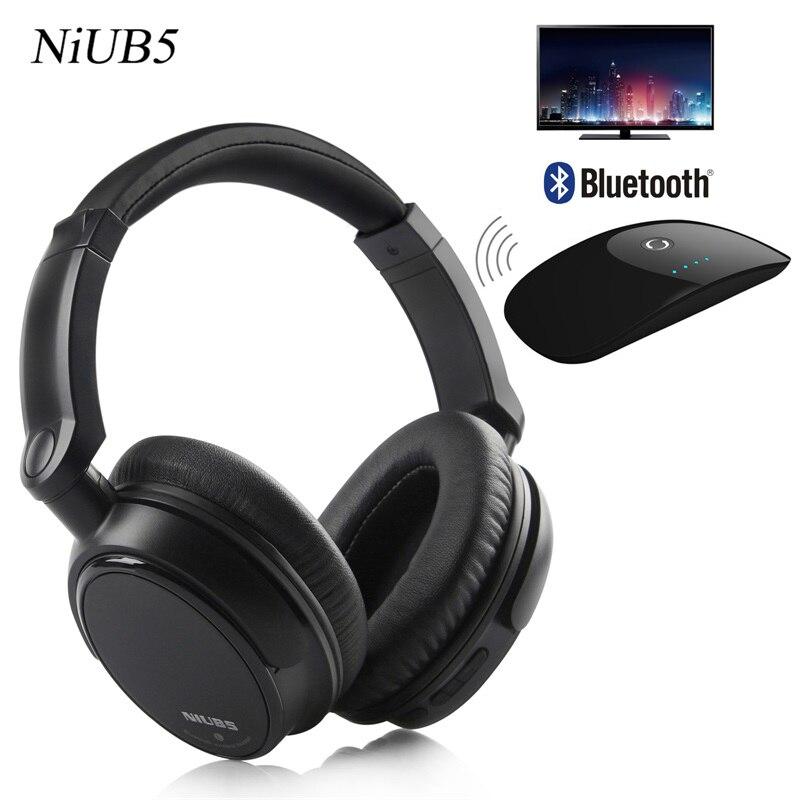 bilder für 2017 niub5 v6 stirnband kopfhörer verdrahtet & wireless kopfhörer stilvolle aussehen schwere bass headset und bluetooth launcher