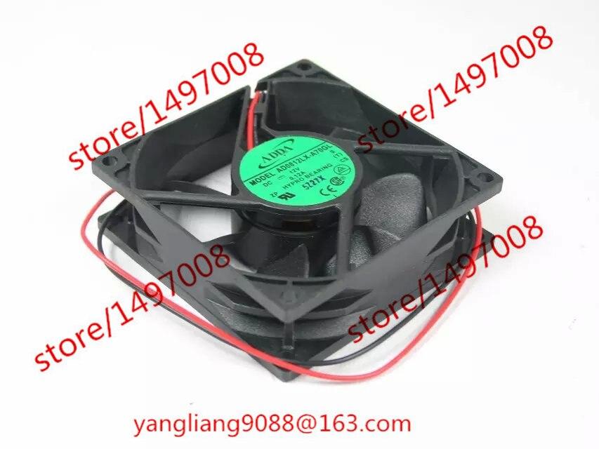 ADDA AD0812LX-A70GL S DC 12V 0,12A 80x80x25mm Вентылятар кулера сервера