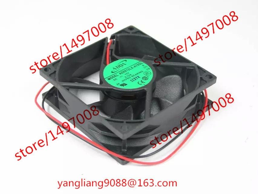 ADDA AD0812LX-A70GL S DC 12V 0.12A 80x80x25mm ventilátor chladiče
