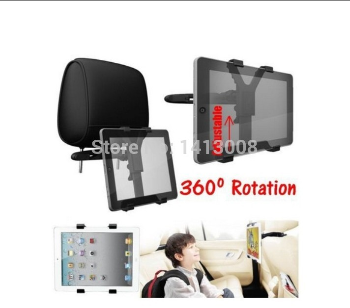 Car Backseat Headrest Tablet Car Mount Holder Bracket 7-13