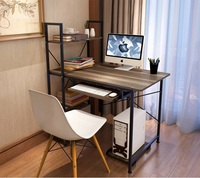 Modern Stylish Computer Laptop Desk With Keyboard Holder And Host Support Many Colors Coffee Table Writing