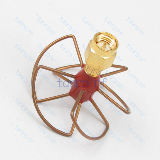 High Quality Gain Antenna 5.8 GHz  5.8G FPV Antenna 5 Leaf Blade TX Circular Polarized Antenna Set SMA male 5.8GHz RX