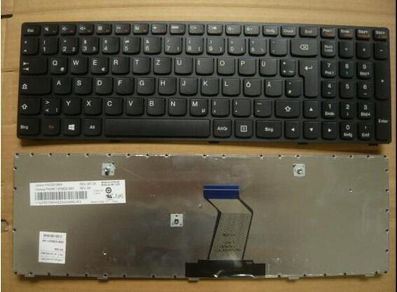 Novo teclado para Lenovo G500 G505 G510 IdeaPad G700 G710 ALEMÃO/AUSTRÍACO/SWISS/SUÉCIA/NORUEGA/ DINAMARCA/FINLÂNDIA/CROATA/SÉRVIO