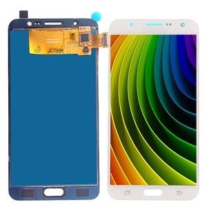 Image 5 - J710 ЖК дисплей для Samsung Galaxy J7 2016 и сенсорный экран дигитайзер сборка Регулируемая Sm J710f J710m J710h + Клей Инструменты
