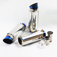 Motorcycle Exhaust Pipe sc Muffler With DB Killer Pit Bike KTM scooter Motocross For Honda cb1000r tmax 500 530 xmax m109r fz1