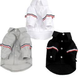 Корейский стиль кошка собака одежда для собак Одежда для животных щенок Костюмы для малых и средних футболка для собак домашних животных