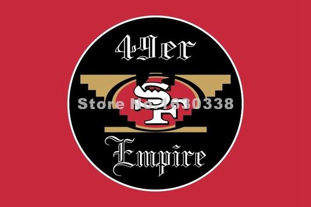 Huelga bird san francisco 49ers flag 3ft x 5ft polyester nfl1 san huelga bird san francisco 49ers flag 3ft x 5ft polyester nfl1 san francisco 49ers banner size sciox Choice Image