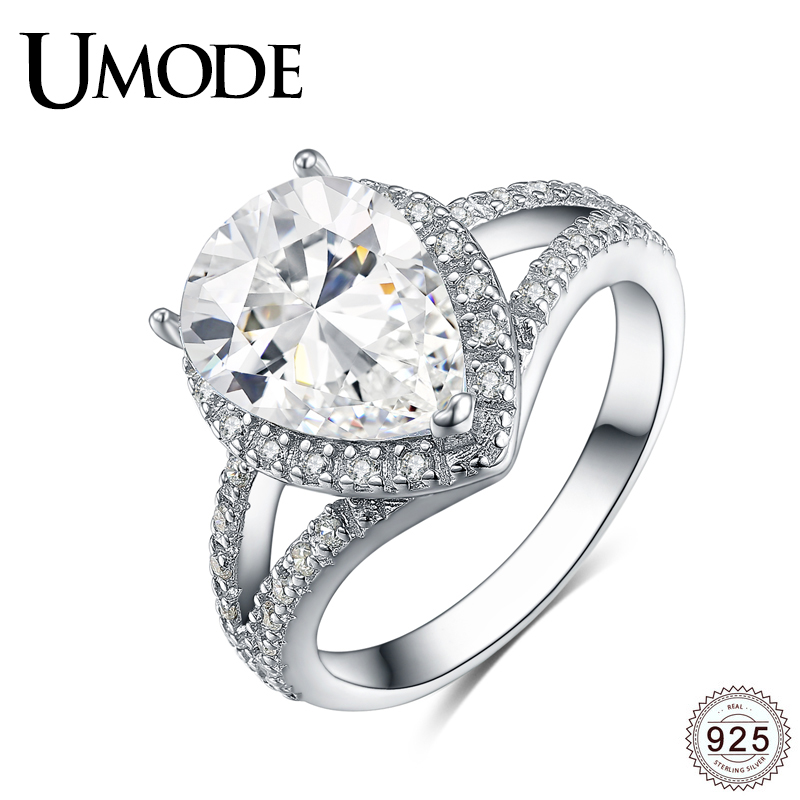 Stainless Steel Asymmetric Stainless Steel CZ Ring Size 5//6//7//8//9//10 FSH B1