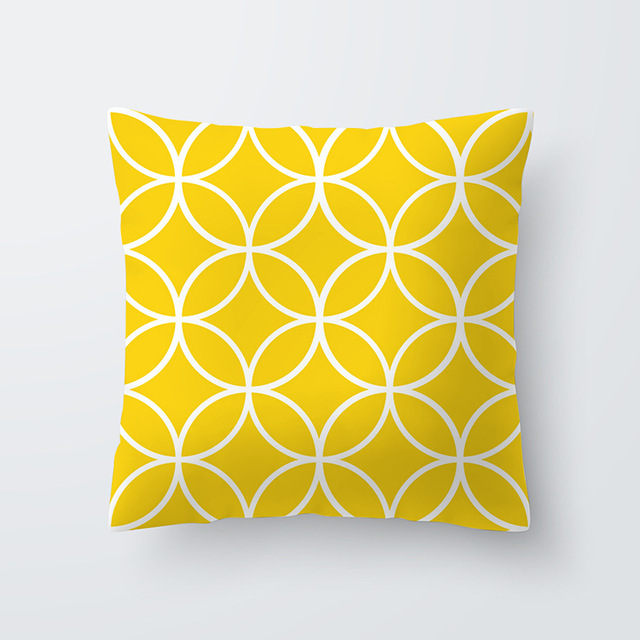 Yellow pillowcse 25