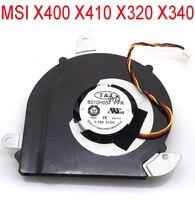 NEW Laptop Cooler For MSI X400 X410 X320 X340 6010H05F PFR Fan NEW Genuine Computer Radiator
