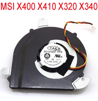 NEW cooling fan for MSI X400 X410 X320 X340 6010H05F PFR cpu fan, Brand new genuine X400 X410 X320 laptop cpu cooling fan cooler