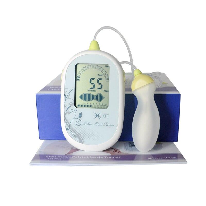 Musculaire pelvien Formateur Électrique CE Approuvé Kegel Exercice Muscle Stimulateur Avec 3 pcs Jade Oeuf Quartz Balle Soins de Santé Ensemble