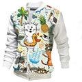Fashion print patchwork mens jacket   stand collar zipper mens jackets  casual  jackets  M-2XL