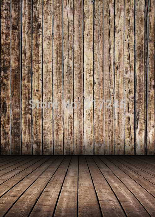 Art Fabric Photography Backdrop Wood Floor Custom Photo Prop backgrounds 5ftX7ft D-2174