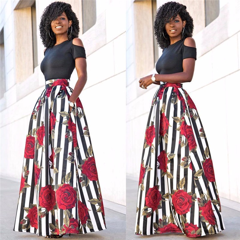 women skirt 2 piece set -4