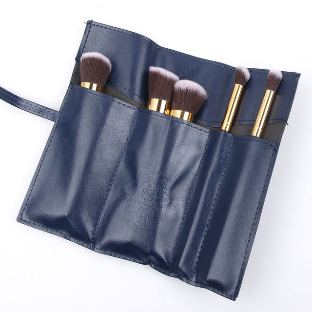 ISKYBOB Retro Vintage Pencil Pen Case Cosmetic Pouch Pocket Brush Holder Makeup Bag Cosmetic Cases Cosmetic Bags