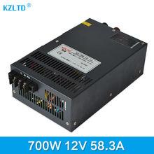 Импульсный источник Питания 12 В 700 Вт Силового Трансформатора 12 В AC-DC 220-12 В Трансформатора Бесперебойного Питания высокая Эффективность