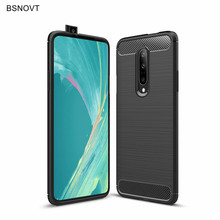 Oneplus 7 Pro Case Soft Silicone Rubber Hard PC Dirt-resistant Phone For Cover BSNOVT