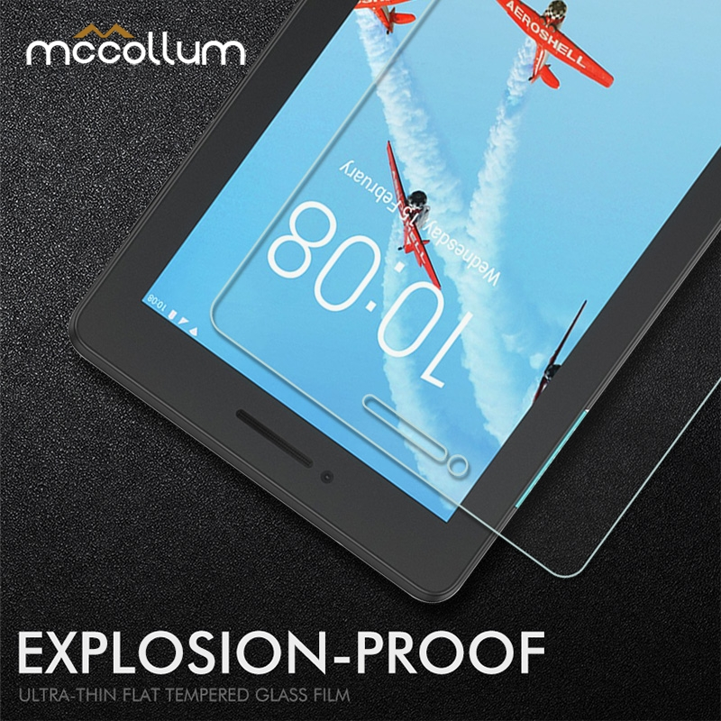 Tempered Glass For Lenovo Tab E7 E8 E10 M7 M8 Screen Protector Protective Glass Lenovo TB-8304F TB-7104F TB-X104F Tablet PC Film(China)