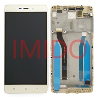 5 0 LCD For Xiaomi Redmi 4 Pro Prime LCD Display Touch Screen Digitizer Assembly Frame