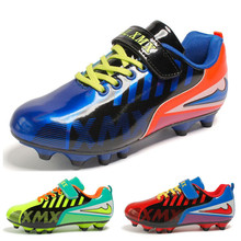 Kids' Sneakers youth Children's soccer Broken nails men women students non slip wear resistant shoes sports nail running shoes