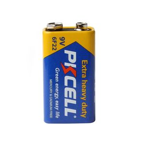 Image 4 - 20pcs PKCELL Super Heavy Duty 9V 6F22 Battery Single use Carbon Zinc Battery for Smoke Alarm electronic thermometer