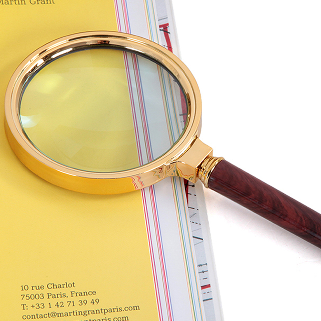 1pc High Quality 80mm Handheld 10x Magnifier Magnifying Glass Loupe Reading Jewelry Repair Tool
