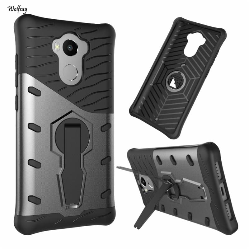 Case Xiaomi Redmi 4 Pro Cover Armor Silicone Rubber 360 Degree Rotation For Xiaomi Redmi 4 Case For Xiaomi Redmi 4 Pro Prime