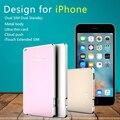 Dual Bluetooth 2 Adaptador de Tarjeta Sim Doble Modo de Espera Casos QUTIGER No Jailbreak iOS 10 Llamada Funciones de Texto Para el iphone/iPod sexto