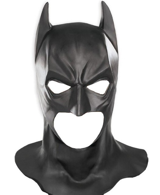 buy batman mask rubber returns superman the dark knight latex full head mask. Black Bedroom Furniture Sets. Home Design Ideas