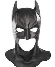 Batman Mask Rubber Returns Superman The Dark Knight Latex Full Head Mask Hood Silicone Halloween Party Black Cosplay Avengers