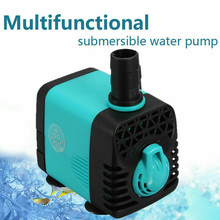 10/15/25/40W Submersible Water Pump Fish Pond Aquarium Tank Waterfall Fountain Sump Feature