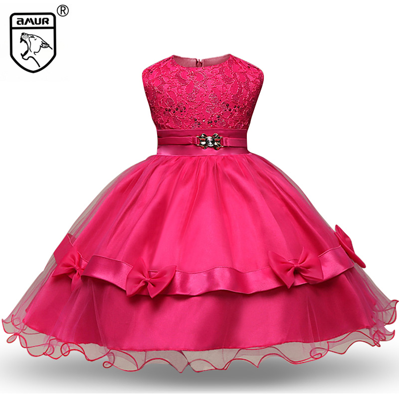 Fashion Sequins Girl Dress Formal Evening Gown Bow Flower Wedding Dance Party Princess Prom Dresses Pageant Kid Clothing Vetidos red new summer flower kids party dresses for weddings formal princess girl evening prom sleeveless girl bow mesh dress clothes