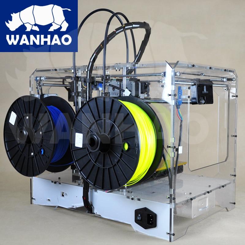 hot sell 3D wanhao printer Duplicator4 use PLA ABS both black