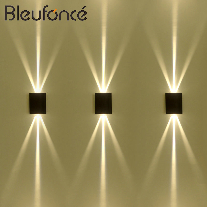Outdoor Waterproof LED Wall Lamp Modern Home Decorative Lighting Wall Sconce Porch Garden Light LED Indoor Wall Lamps 220V BL68 original delta afb1212hhe r00 dc12v 0 70a 3wires 120 120 38mm 12cm alarm signal cooling fan