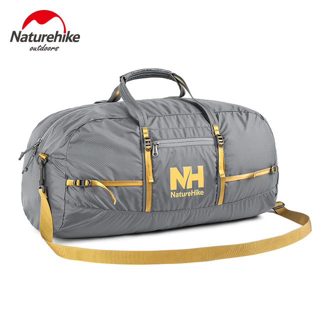 NatureHike Foldable Travel Luggage Duffle Bag For Sports Vacation Lightweight Gym With Strap