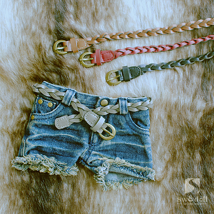 1/3 1/4 scale BJD belt for BJD/SD DIY doll accessories.Not included doll,clothes,shoes,wig and other accessories 16C0935