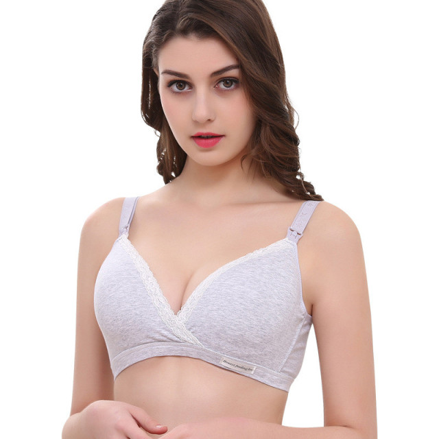 Wirefree Nursing Maternity Bra Clothing Cotton