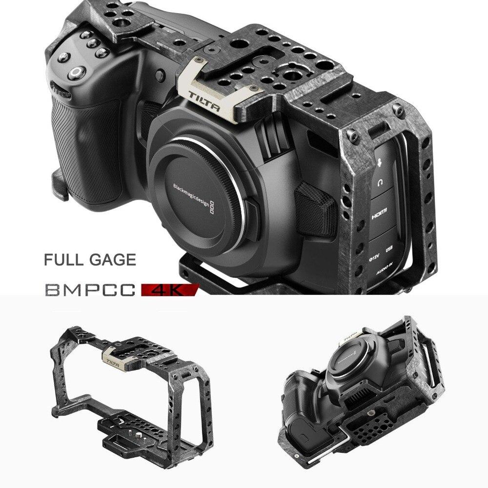 Instock TILTA TA T01 FCC Full Cage BMPCC 4K Tactical Assault Cage for Blackmagic Pocket Cinema