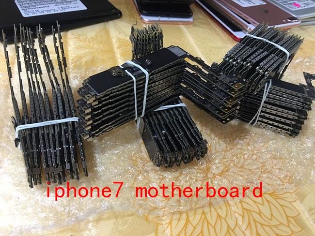 unlocked Motherboard without/with Touch ID for iphone 7 Mainboard with Chips 32gb / 128gb / 256gb Connector