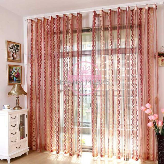 5colors Fashion grey tulle modern sheer Curtains for living room the ...