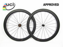 Tubeless Farsports FSC50-CM-23 ED hub 50mm 23mm China hand build light weight carbon wheel, 23mm width carbon tubeless rim wheel
