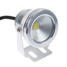 10 Вт Светодиодный светильник для бассейна подводный водонепроницаемый IP67 ландшафтный светильник Теплый/Холодный белый AC/DC 12V 900LM